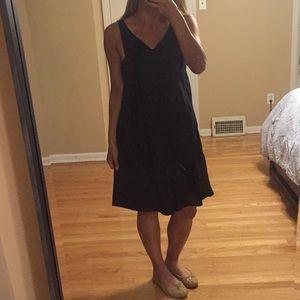 BCBG MaxAzria black summer dress